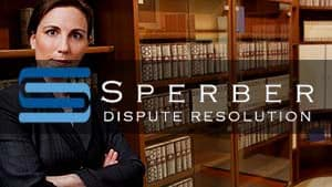 Sperber Dispute Resolution Testimonial