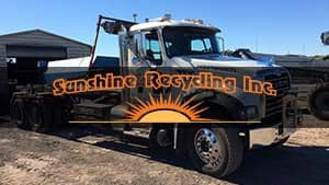 Sunshine Recycling Testimonial