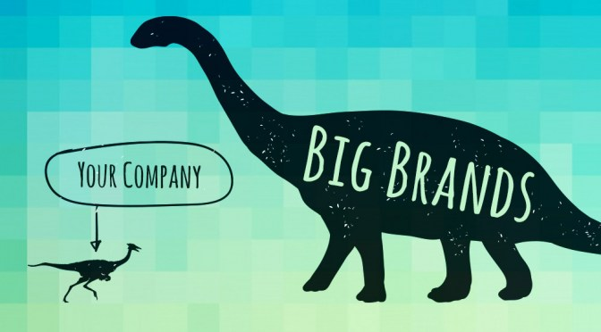 how to compete with big brands