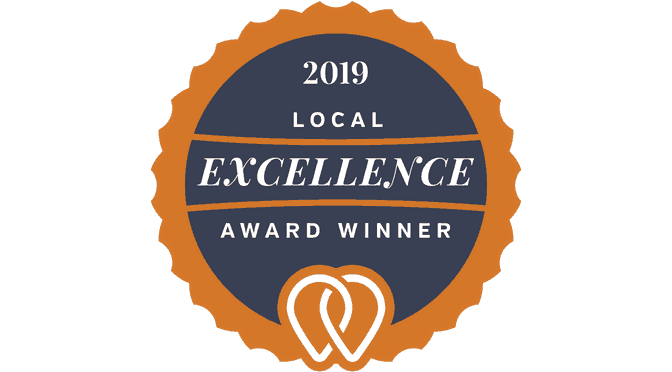 Local Excellence Award awarded by UpCity to top 20 marketing agencies in Atlanta
